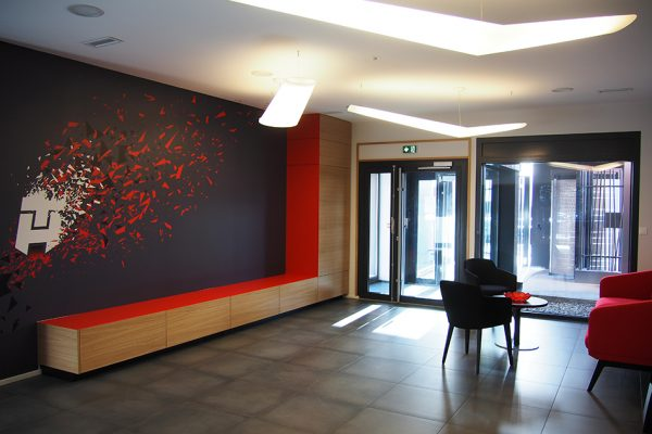 Hall d'accueil - Reception area