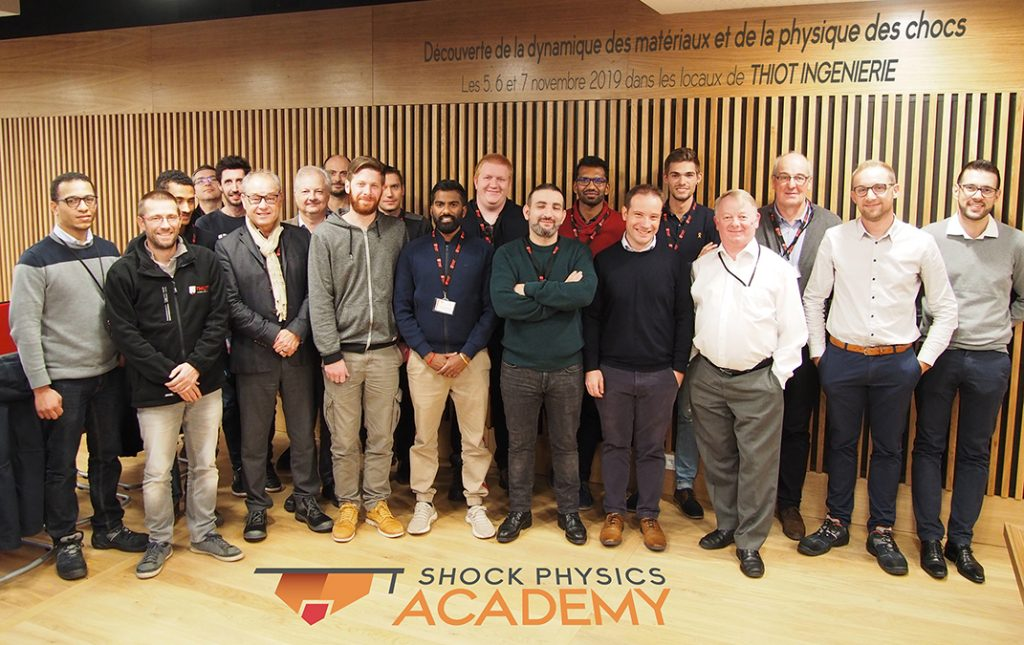 Shock Physics Academy - Formation novembre 2019