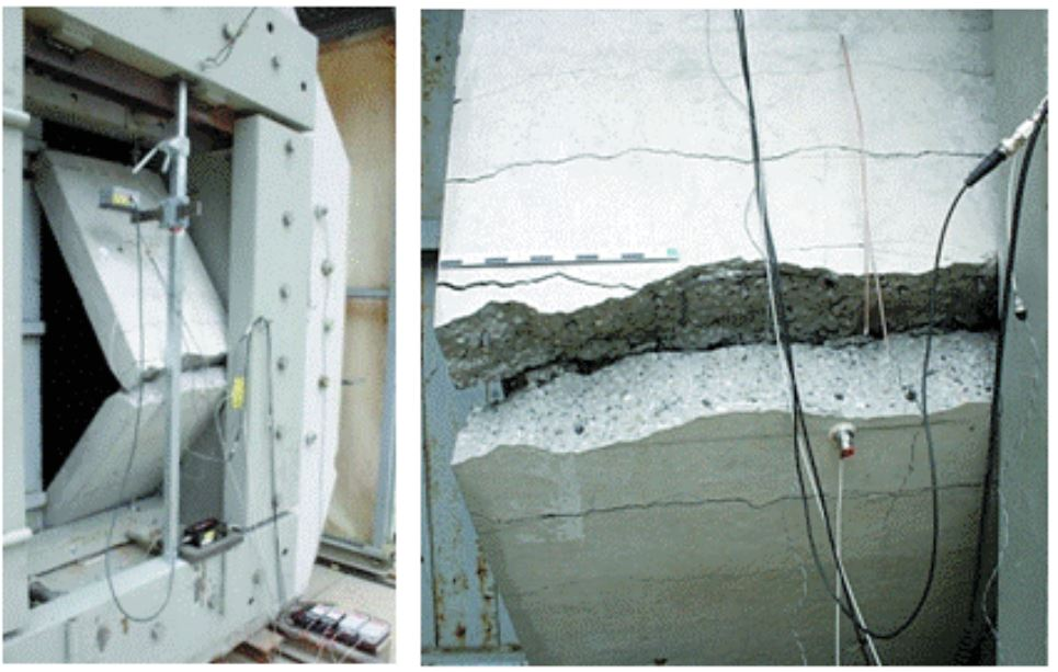 Reinforced concrete infrastructures submitted to blasts